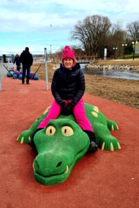 Krokodilliga ratsutamas