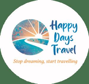 Happy Days Traveli logo