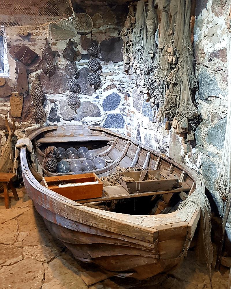 Paat Rootsi-Kallavere muuseumis